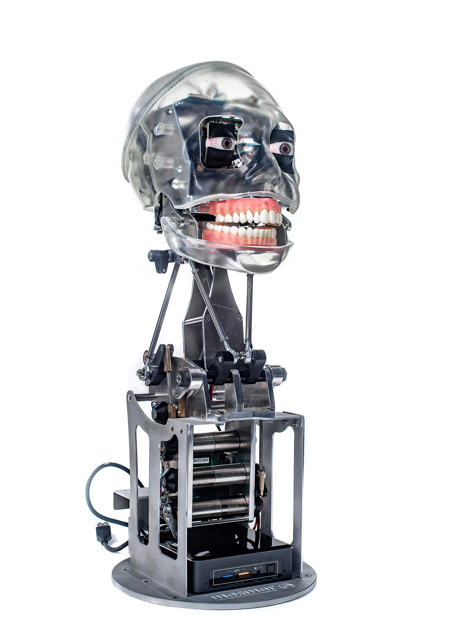 Robot Rental UK - Melvin Mesmer Robot for Hire