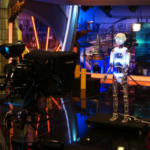 Robot Rental by Engineered Arts RoboThespian Hired, TV Show El hormiguero